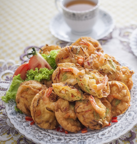 Prawns Fritters