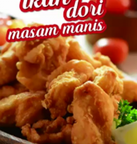 Fried Dory Fish With Sweet & Sour Sauce