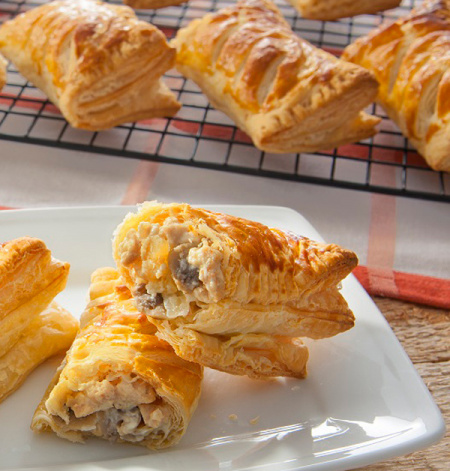Chicken and Mushroom Puff