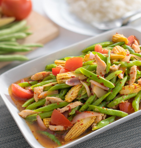Mixed Vegetable with French Bean