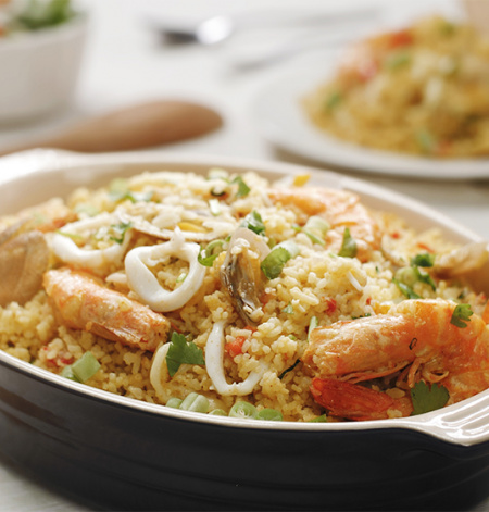 One Pot Seafood Rice
